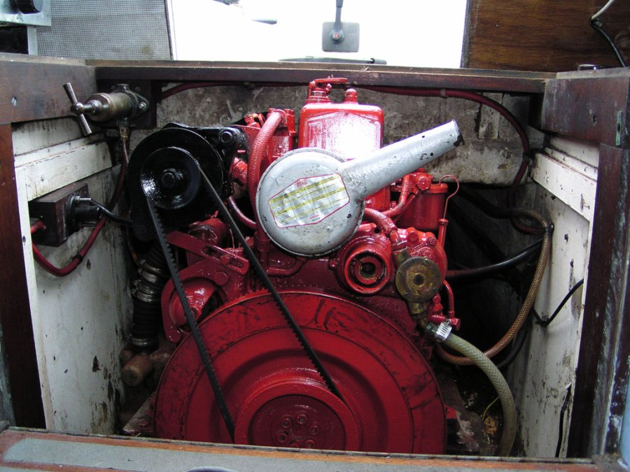 Bukh10 diesel