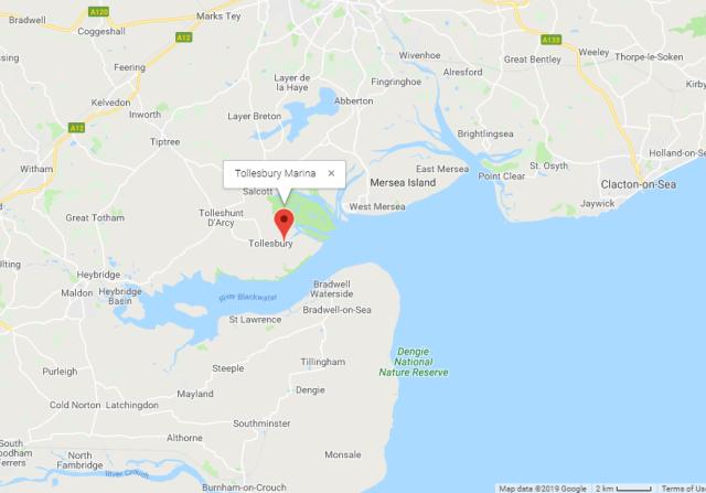 tollesbury maruina map 2